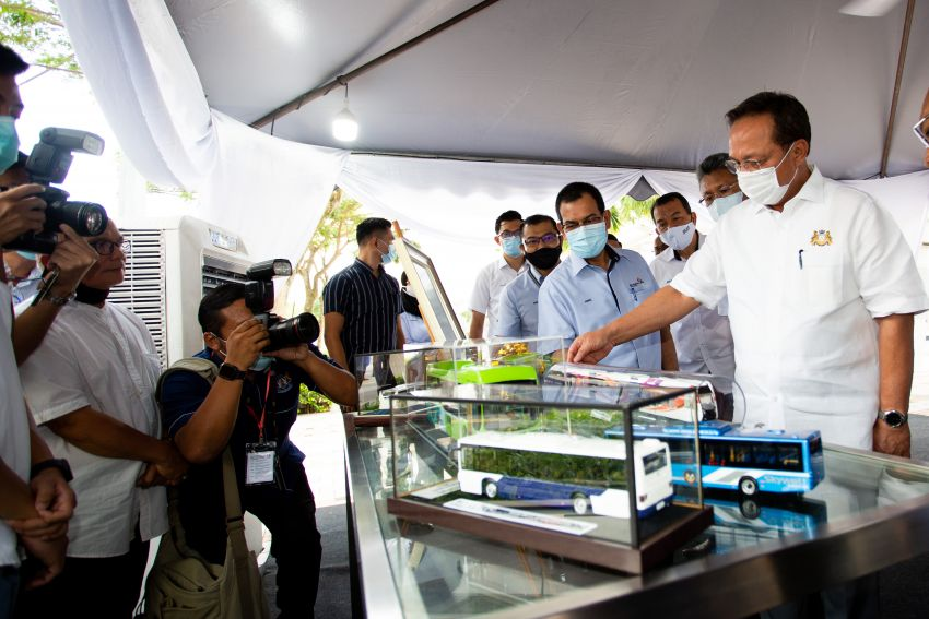 Iskandar Malaysia BRT starts three-month pilot testing Image #1276269