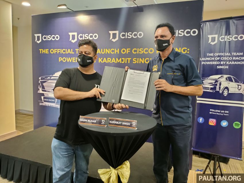 Karamjit Singh and Cisco Racing to compete in 2021 Malaysian National Rally Championship in a Gen2 4WD Image #1277914