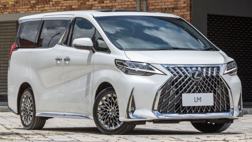 Lexus LM 350 launched in Malaysia – luxury 4-seater Alphard with limo rear seats, 26-inch TV,  RM1.1 million Image #1279734