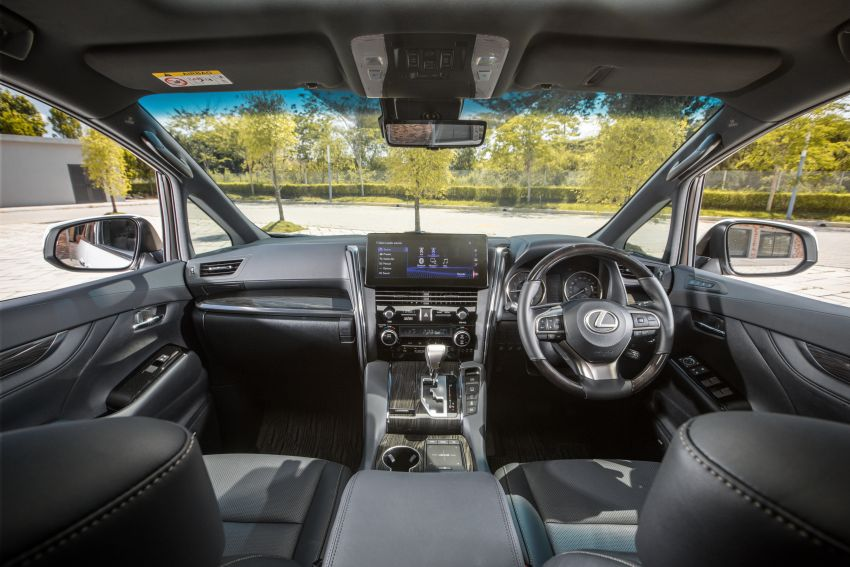 Lexus LM 350 launched in Malaysia – luxury 4-seater Alphard with limo rear seats, 26-inch TV,  RM1.1 million Image #1279748