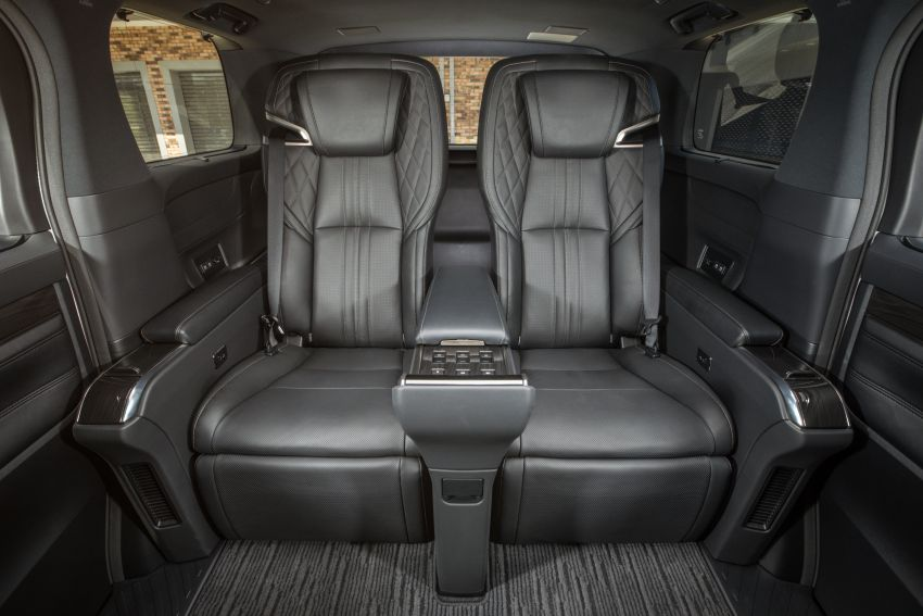 Lexus LM 350 launched in Malaysia – luxury 4-seater Alphard with limo rear seats, 26-inch TV,  RM1.1 million Image #1279752