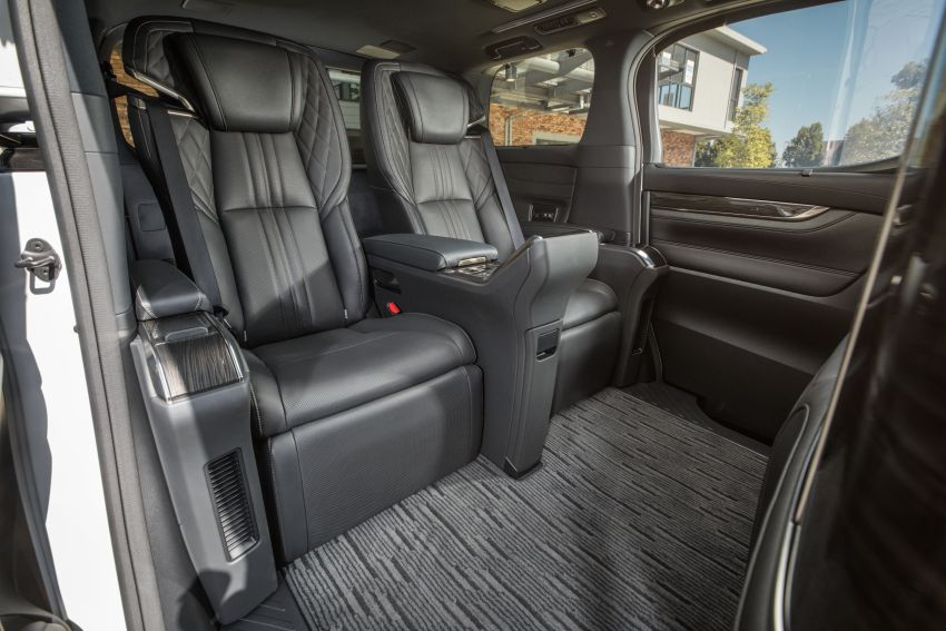 Lexus LM 350 launched in Malaysia – luxury 4-seater Alphard with limo rear seats, 26-inch TV,  RM1.1 million Image #1279753
