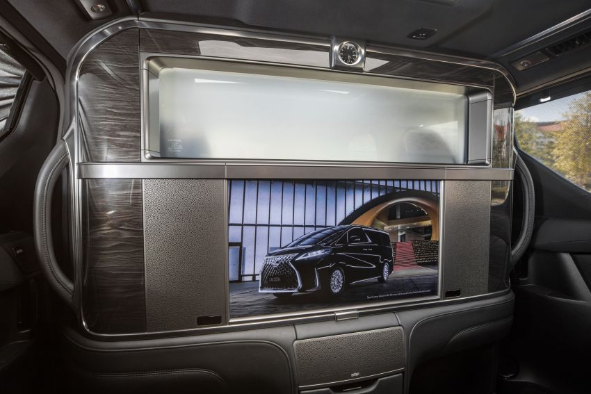 Lexus LM 350 launched in Malaysia – luxury 4-seater Alphard with limo rear seats, 26-inch TV,  RM1.1 million Image #1279760
