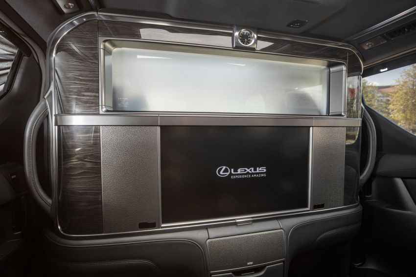Lexus LM 350 launched in Malaysia – luxury 4-seater Alphard with limo rear seats, 26-inch TV,  RM1.1 million Image #1279761