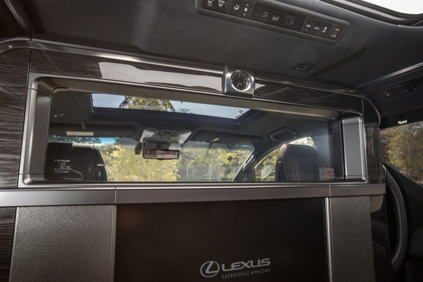 Lexus LM 350 launched in Malaysia – luxury 4-seater Alphard with limo rear seats, 26-inch TV,  RM1.1 million Image #1279764
