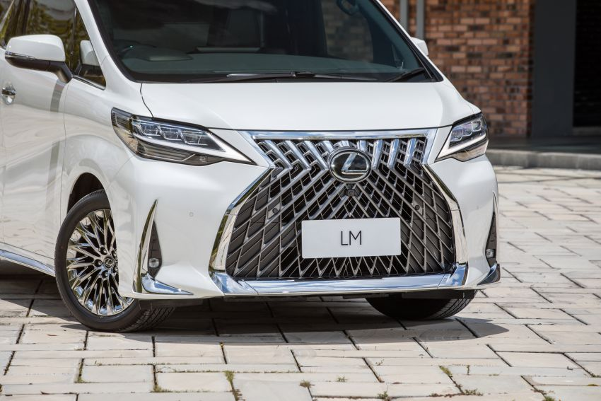 Lexus LM 350 launched in Malaysia – luxury 4-seater Alphard with limo rear seats, 26-inch TV,  RM1.1 million Image #1279739