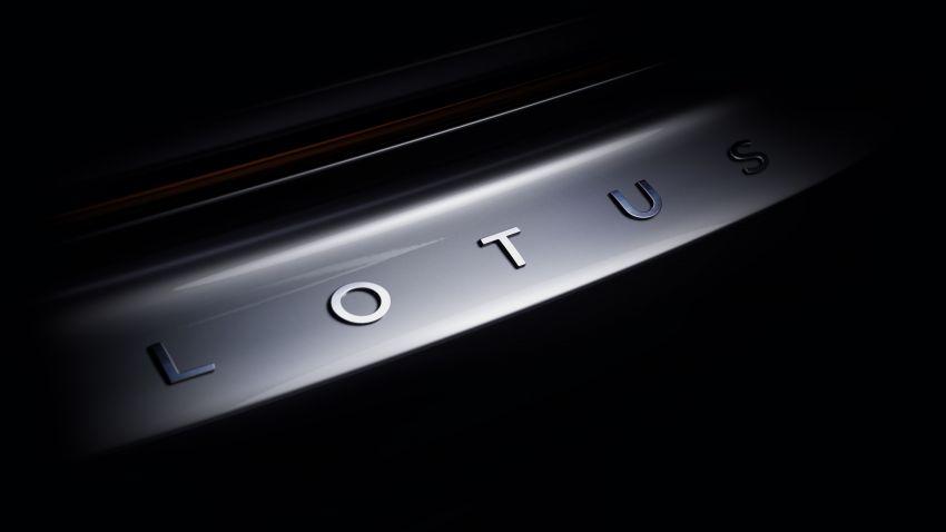 Lotus Emira teased – last pure petrol Lotus sports car, new extruded aluminium architecture, debuts July 6 Image #1288284