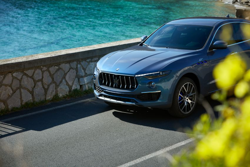 Maserati Levante Hybrid officially debuts – 2.0L turbo four-cylinder with eBooster tech; 330 PS and 450 Nm Image #1283970