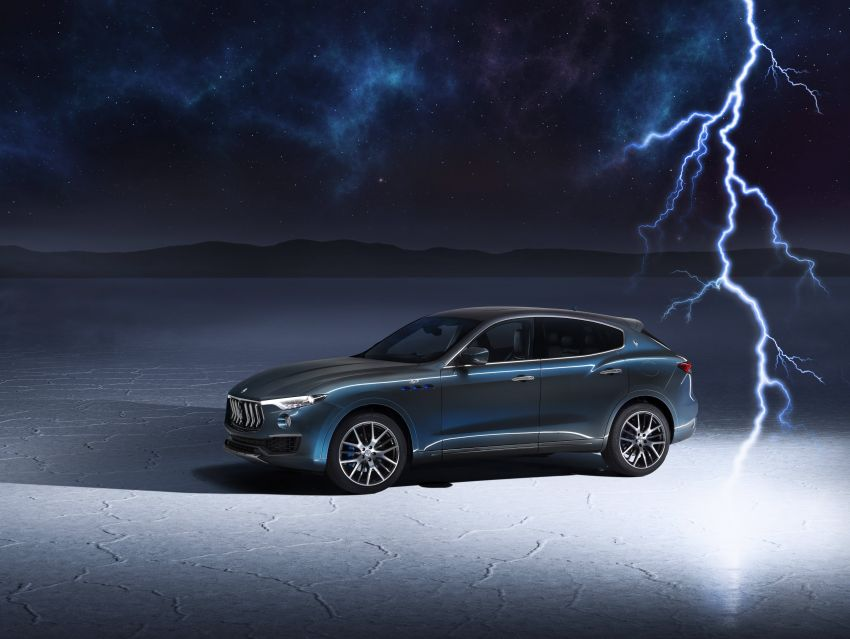 Maserati Levante Hybrid officially debuts – 2.0L turbo four-cylinder with eBooster tech; 330 PS and 450 Nm Image #1283985