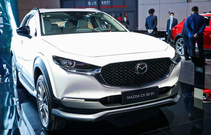 Mazda CX-30 EV makes its debut at Auto Shanghai Image #1284273