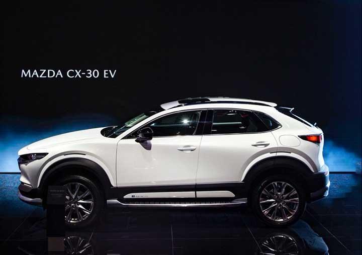 Mazda CX-30 EV makes its debut at Auto Shanghai Image #1284274