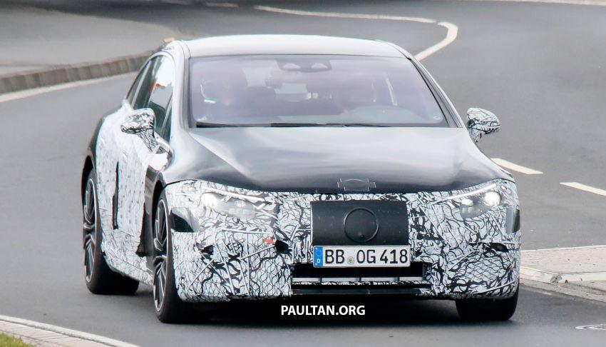 SPYSHOTS: Mercedes-AMG EQS – AWD and 761 PS Image #1289050