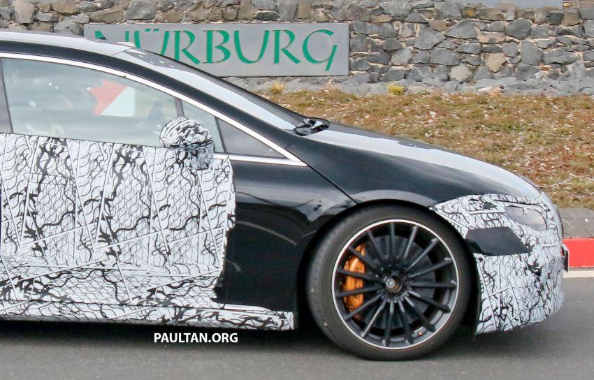 SPYSHOTS: Mercedes-AMG EQS – AWD and 761 PS Image #1289054