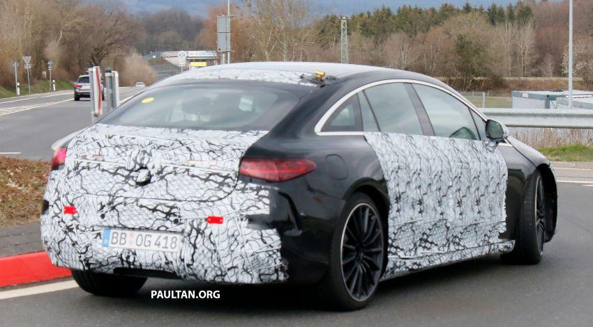 SPYSHOTS: Mercedes-AMG EQS – AWD and 761 PS Image #1289056
