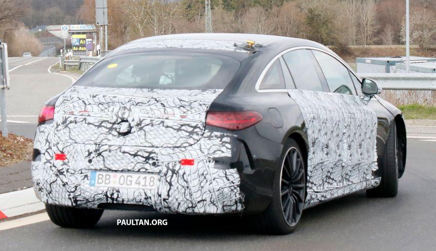 SPYSHOTS: Mercedes-AMG EQS – AWD and 761 PS Image #1289057