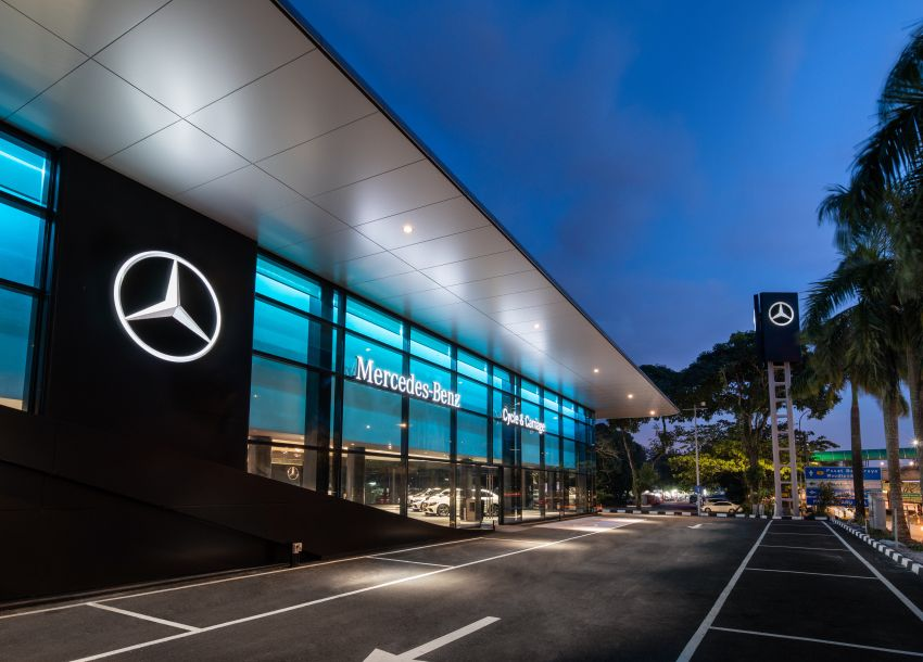 Cycle & Carriage Mercedes-Benz Autohaus in JB upgraded: new CI, only B&P centre in southern region Image #1286731
