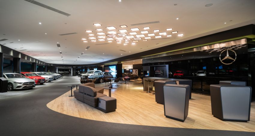 Cycle & Carriage Mercedes-Benz Autohaus in JB upgraded: new CI, only B&P centre in southern region Image #1286744