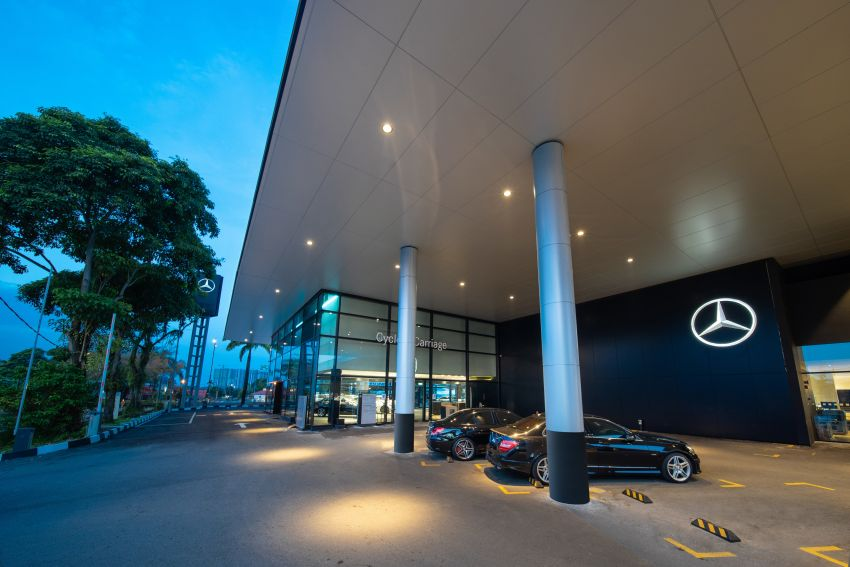 Cycle & Carriage Mercedes-Benz Autohaus in JB upgraded: new CI, only B&P centre in southern region Image #1286755