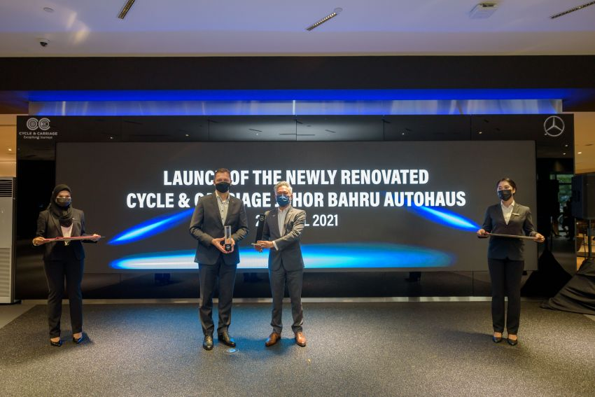 Cycle & Carriage Mercedes-Benz Autohaus in JB upgraded: new CI, only B&P centre in southern region Image #1286732