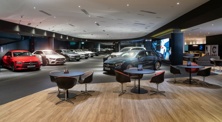 Cycle & Carriage Mercedes-Benz Autohaus in JB upgraded: new CI, only B&P centre in southern region Image #1286733