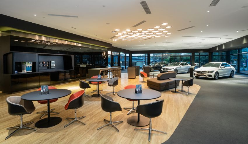 Cycle & Carriage Mercedes-Benz Autohaus in JB upgraded: new CI, only B&P centre in southern region Image #1286736