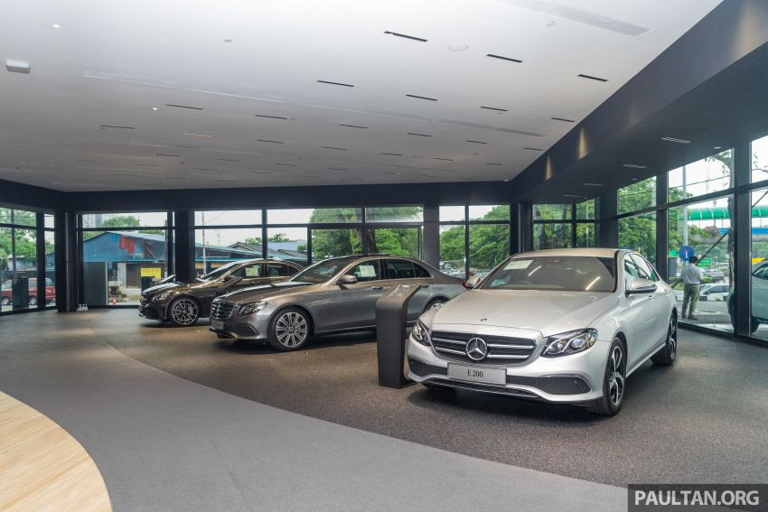 Cycle & Carriage Mercedes-Benz Autohaus in JB upgraded: new CI, only B&P centre in southern region Image #1287005