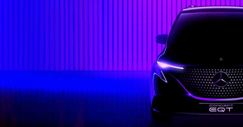 Mercedes-Benz Concept EQT teased – May 10 debut Image #1284720