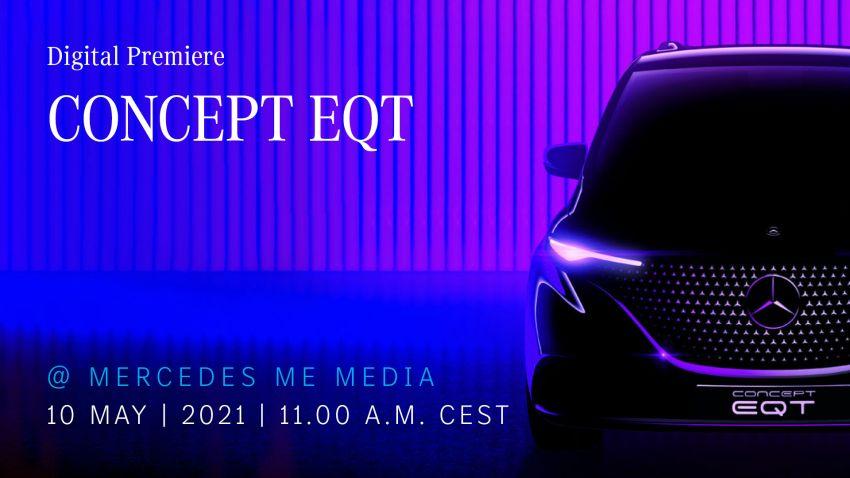 Mercedes-Benz Concept EQT teased – May 10 debut Image #1284721