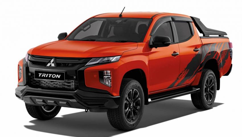 2021 Mitsubishi Triton Athlete launched in Malaysia – replaces Adventure X as top variant, RM141,500 Image #1275169