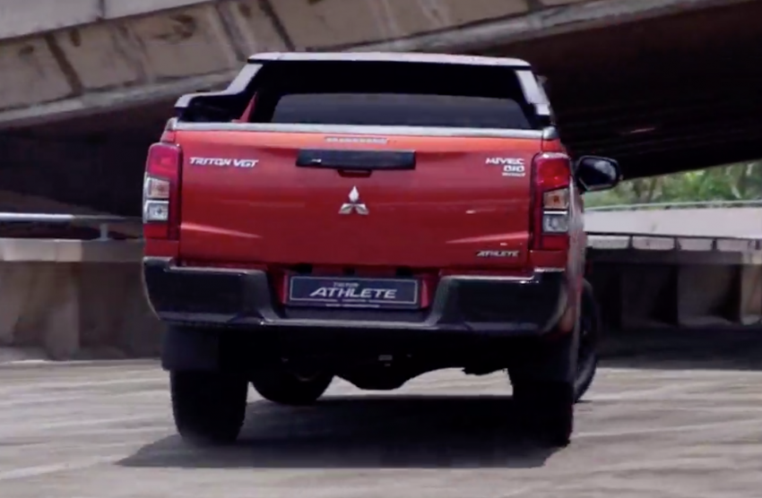 2021 Mitsubishi Triton Athlete launched in Malaysia – replaces Adventure X as top variant, RM141,500 Image #1275687