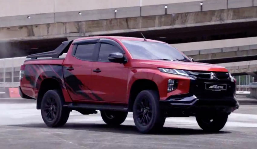 2021 Mitsubishi Triton Athlete launched in Malaysia – replaces Adventure X as top variant, RM141,500 Image #1275688