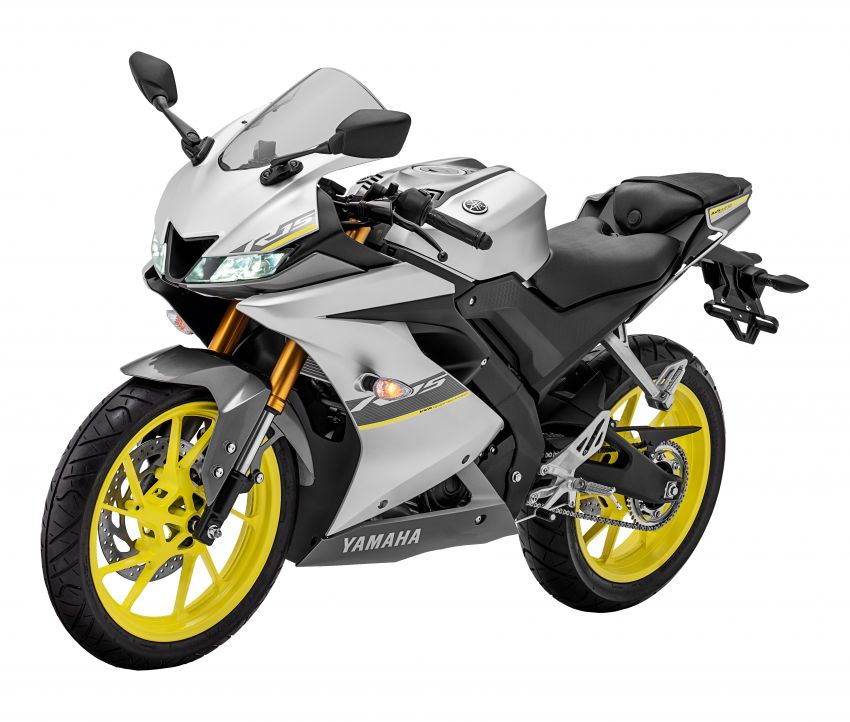 2021 Yamaha YZF-R15 in new colour for this year, Malaysian pricing remains unchanged at RM11,988 Image #1284494