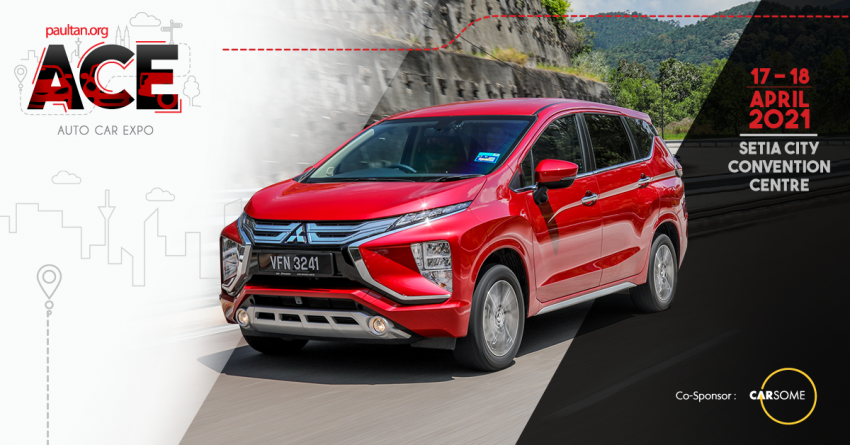 ACE 2021: Test drive and experience the Mitsubishi Xpander – book one and receive RM2,550 in vouchers Image #1282274