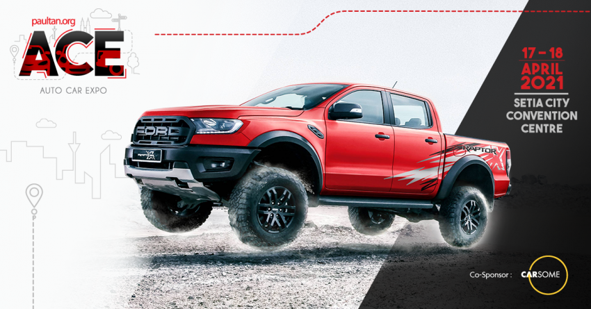 ACE 2021: Buy a Ford Ranger and enjoy a five-year warranty, plus RM2,550 worth of vouchers from us! Image #1276142