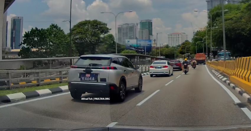 SPIED: 2021 DS9 flagship sedan spotted testing in KL! Image #1276222