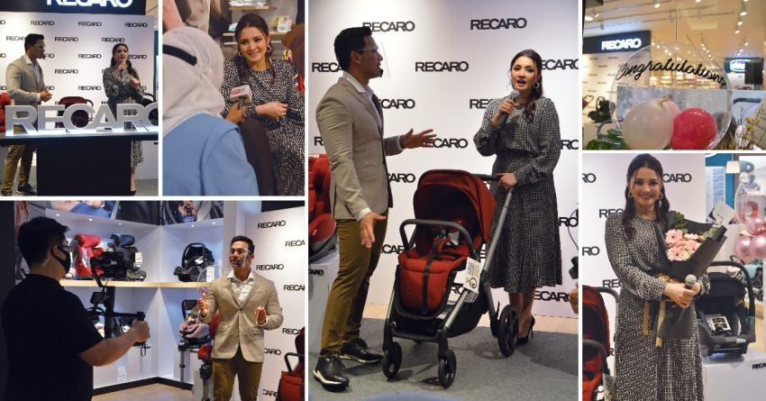 AD: First-ever Recaro Kids outlet in Malaysia launched at 1 Utama with Nur Fazura, Dr Say as special guests Image #1285289
