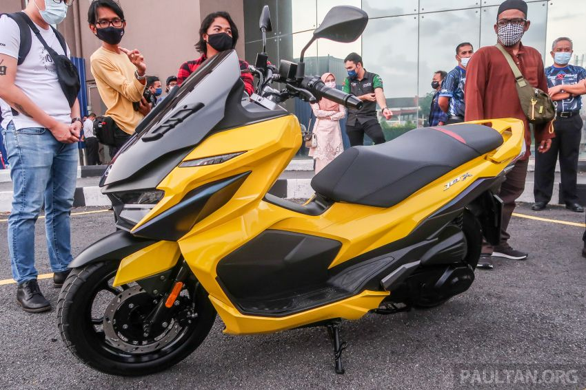 2021 SYM Jet X 150  Malaysian preview, expected in dealer showrooms in May, between RM8k and RM10k Image #1284752