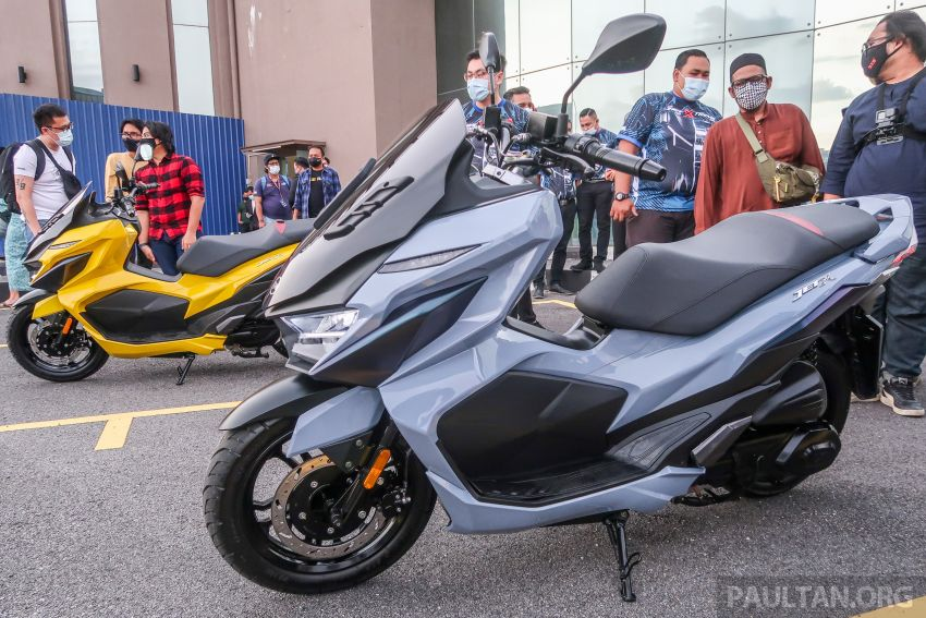 2021 SYM Jet X 150  Malaysian preview, expected in dealer showrooms in May, between RM8k and RM10k Image #1284753