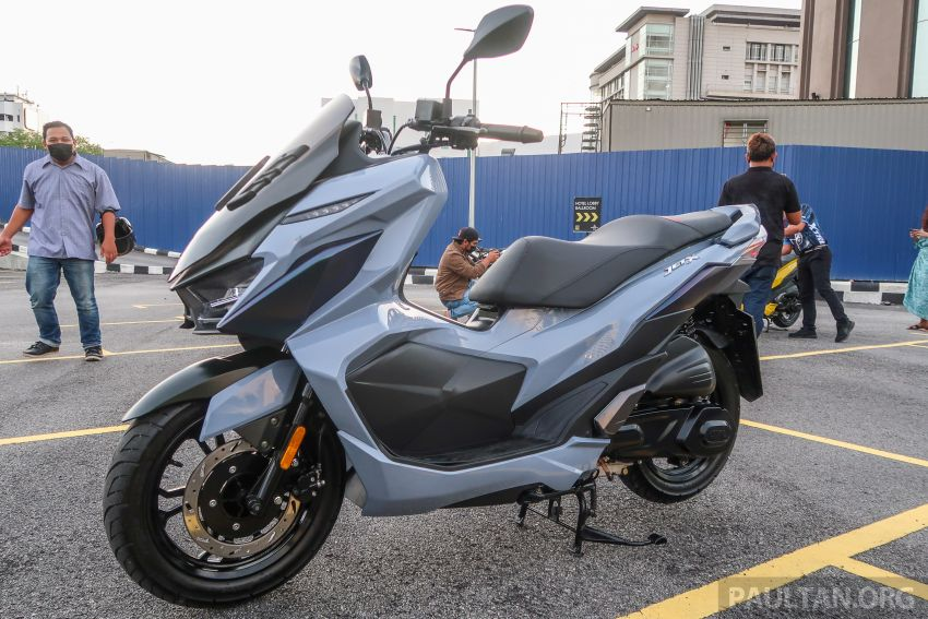 2021 SYM Jet X 150  Malaysian preview, expected in dealer showrooms in May, between RM8k and RM10k Image #1284755
