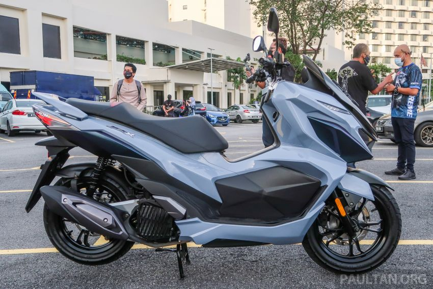 2021 SYM Jet X 150  Malaysian preview, expected in dealer showrooms in May, between RM8k and RM10k Image #1284757