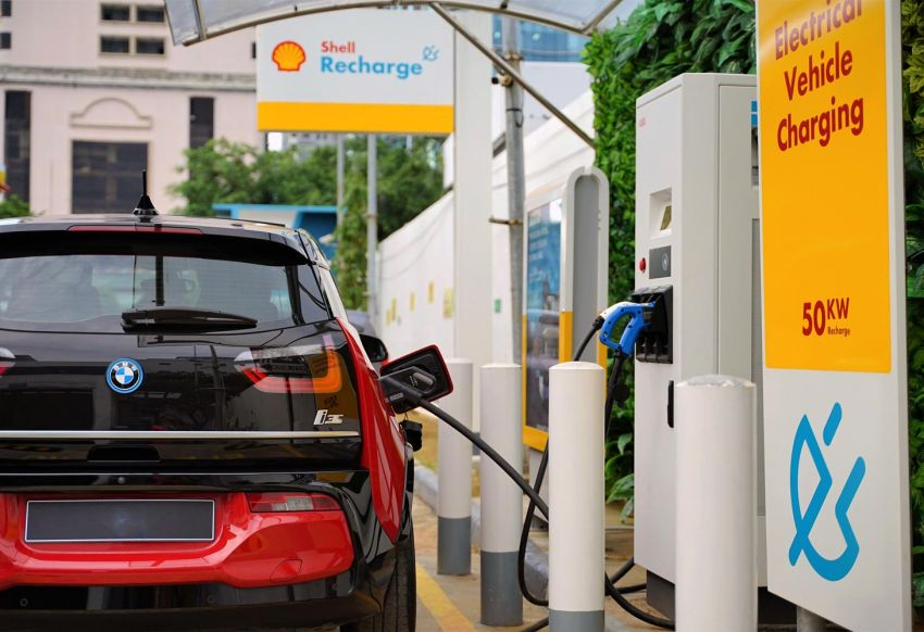 Shell launches first public EV charging station in Indonesia – 50 kW charging facility in North Jakarta Image #1274417