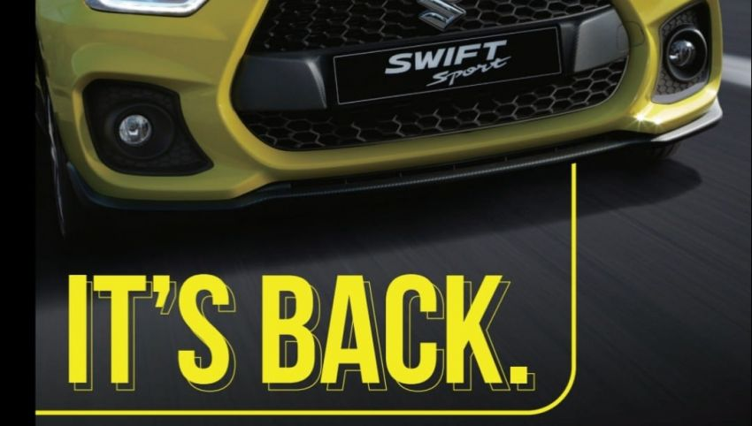 2021 Suzuki Swift Sport open for booking in Malaysia – 1.4L Boosterjet turbo, 140 PS & 230 Nm; est RM145k? Image #1274102