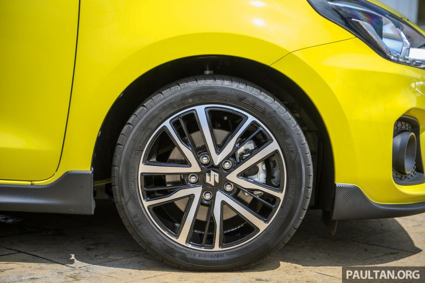 2021 Suzuki Swift Sport open for booking in Malaysia – 1.4L Boosterjet turbo, 140 PS & 230 Nm; est RM145k? Image #1274030