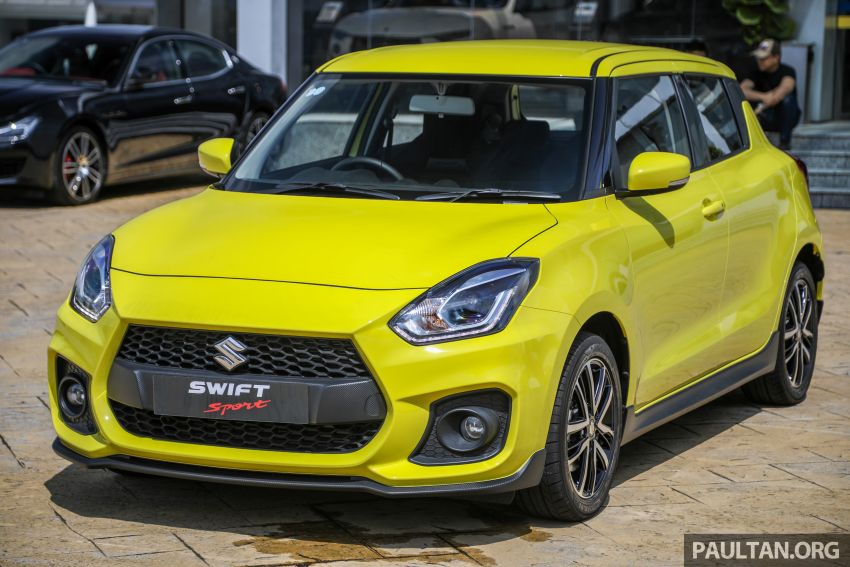 2021 Suzuki Swift Sport open for booking in Malaysia – 1.4L Boosterjet turbo, 140 PS & 230 Nm; est RM145k? Image #1274018