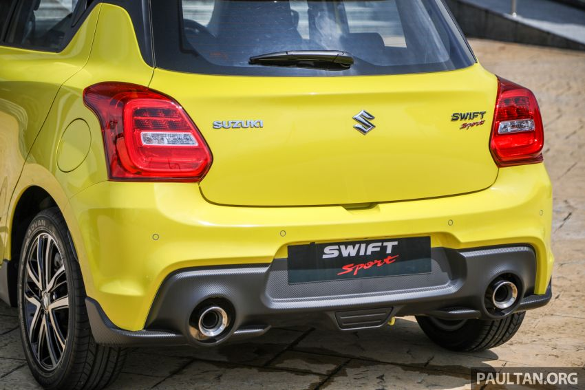 2021 Suzuki Swift Sport open for booking in Malaysia – 1.4L Boosterjet turbo, 140 PS & 230 Nm; est RM145k? Image #1274037