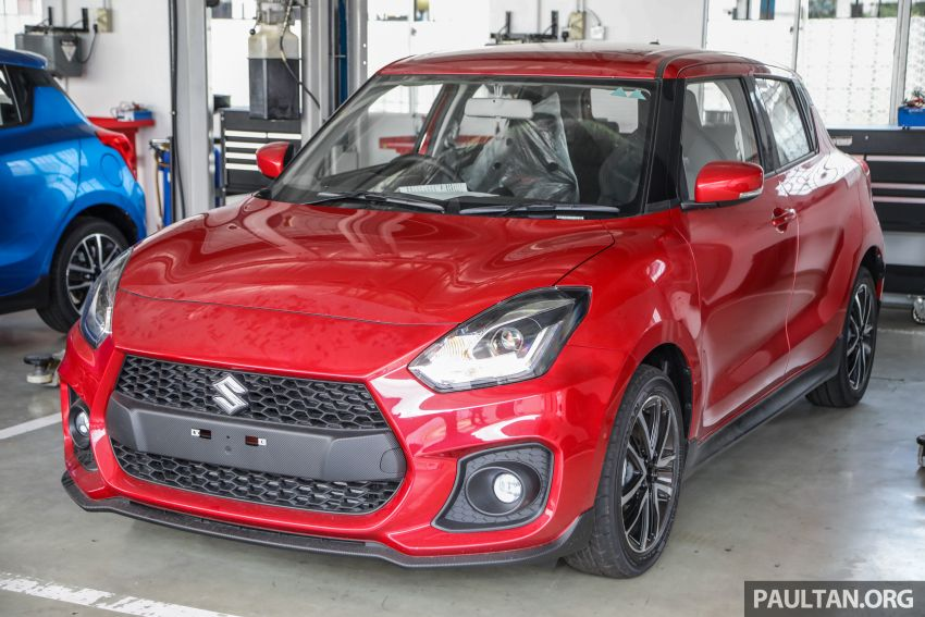 2021 Suzuki Swift Sport open for booking in Malaysia – 1.4L Boosterjet turbo, 140 PS & 230 Nm; est RM145k? Image #1274047