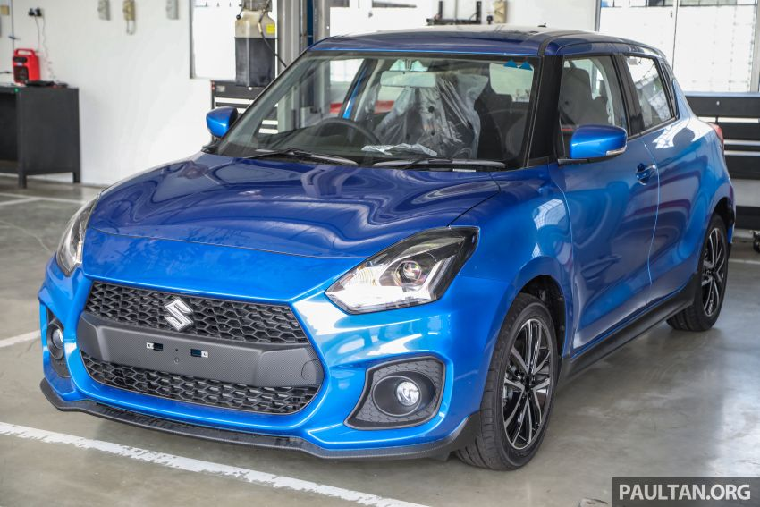 2021 Suzuki Swift Sport open for booking in Malaysia – 1.4L Boosterjet turbo, 140 PS & 230 Nm; est RM145k? Image #1274048