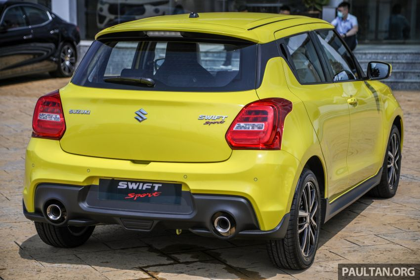 2021 Suzuki Swift Sport open for booking in Malaysia – 1.4L Boosterjet turbo, 140 PS & 230 Nm; est RM145k? Image #1274020