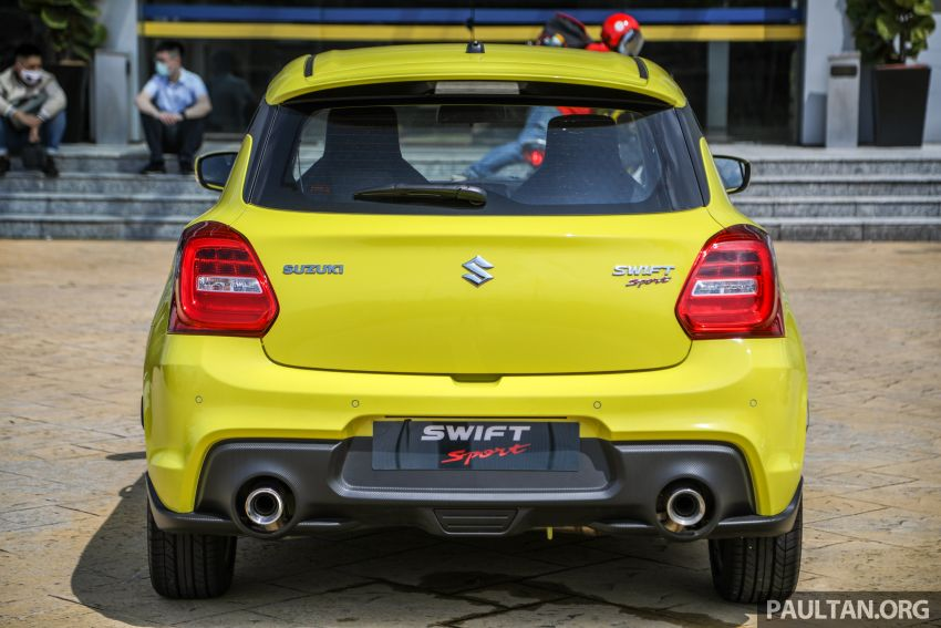 2021 Suzuki Swift Sport open for booking in Malaysia – 1.4L Boosterjet turbo, 140 PS & 230 Nm; est RM145k? Image #1274022