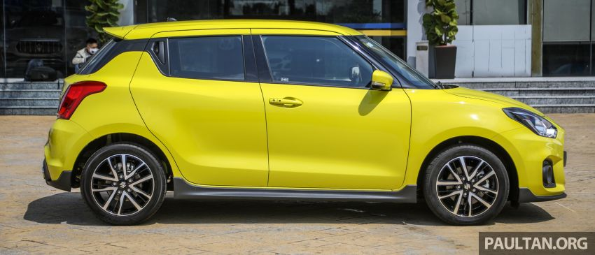 2021 Suzuki Swift Sport open for booking in Malaysia – 1.4L Boosterjet turbo, 140 PS & 230 Nm; est RM145k? Image #1274023